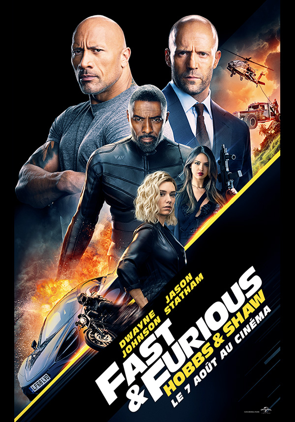 FAST AND FURIOUS, HOBBS & SHAW