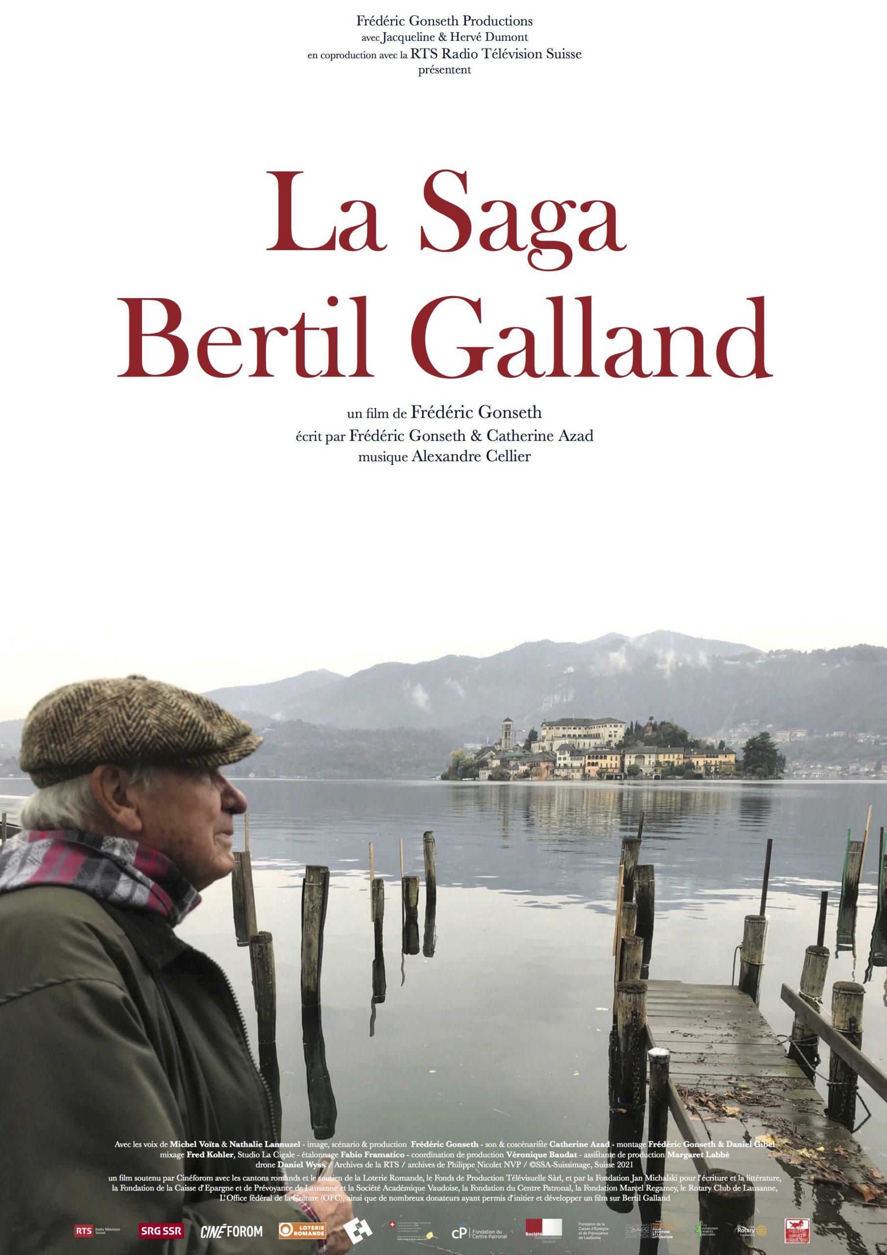 LA SAGA BERTIL GALLAND